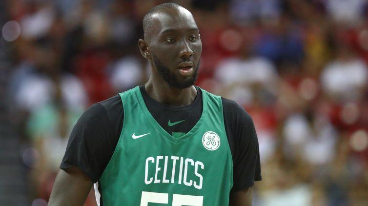 New Celtics center Enes Kanter among Tacko Fall's growing number of fans