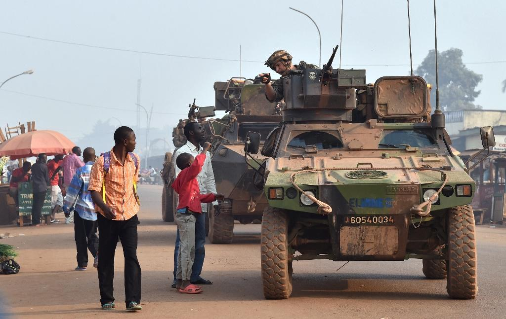 French troops who deployed in the Central African Republic in late 2013 amid fears of a sectarian bloodbath left earlier in November (AFP Photo/Issouf Sanogo)