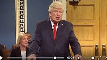 'SNL' Floats Dream Impeachment Trial With Alec Baldwin's Doddering Donald