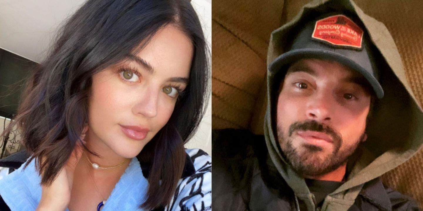 Lucy Hale and Skeet Ulrich Were Just Spotted Kissing While Out on a Date  Together