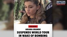 Ariana Grande's World Tour suspended after Manchester attack