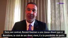 """Barcelone - Gullit : """"Dommage pour l'équipe nationale de voir partir Koeman"""""""