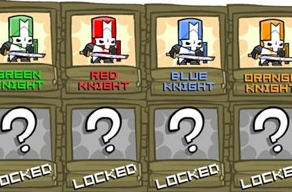 22 unlockable characters confirmed for Castle Crashers