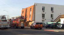 Six killed, 13 injured in Las Vegas flats fire