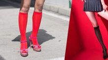 「小野馬」泫雅親自示範!長襪就是能配搭出百變造型的新趨勢