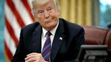 Las redes critican y se mofan de Trump por un error ortográfico y su doble sentido