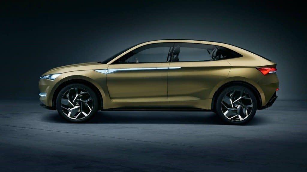 擴展電動車產品目錄,SKODA擬於2022年推出電動SUV