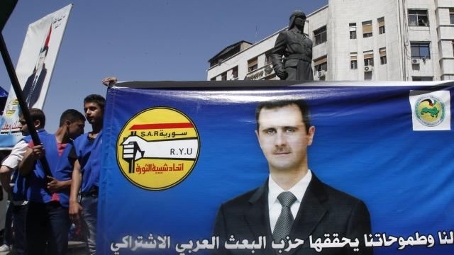 Syria's President Assad Announces He Will Run for Third Term