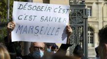 """""""Je ne fermerai pas !"""" : à Marseille, Véran face à la grogne des restaurateurs"""