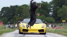 How to dodge a speeding Lamborghini