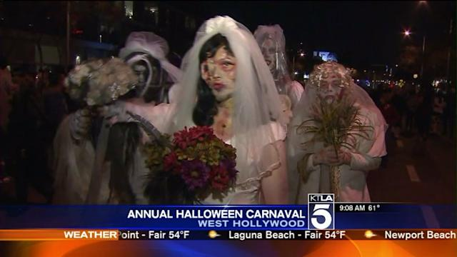 West Hollywood Gets Ready for Annual Halloween Carnaval