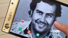 Pablo Escobar's brother unveils 'unbreakable' foldable phone - and threatens to sue Apple