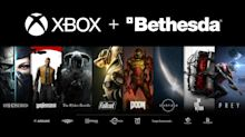 Dow Jones Tumbles 750 Points; Microsoft Buys Bethesda Softworks; Walmart Stock Vastly Outperforms
