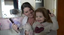 Stroke Sufferer Learns To Walk And Talk At Same Time As Her Baby Daughter