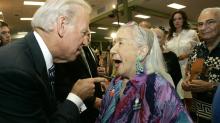 Fact check: No, Joe Biden did not put a gun in a woman's mouth in Wisconsin