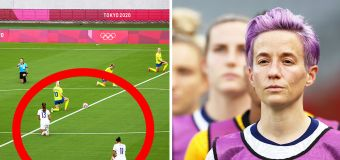Disgusting backlash over historic Olympics moment
