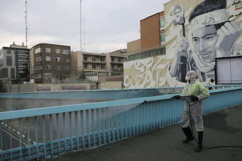 Iran blames U.S. sanctions for vaccine payment problems