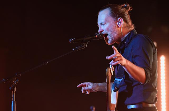 Radiohead is uploading concert films to YouTube for isolated fans
