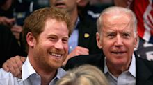 Joe Biden once joked Prince Harry was spending too much time with his wife Jill