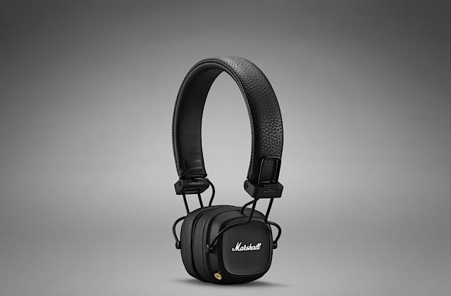 Marshall's latest headphones last over 80 hours on a charge