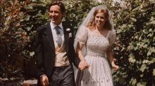 New pictures from Princess Beatrice's wedding shared on social media