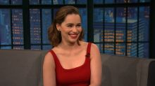 'Game of Thrones' Star Emilia Clarke Sings 'MMMBop' in Dothraki