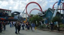 Man who sued Drayton Manor Park for £1.5m after back injury seen white water rafting