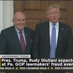 President Trump And Rudy Giuliani To Attend Pa. GOP Election Hearing