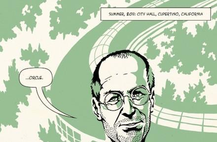 Preview: 4 pages from forthcoming Steve Jobs graphic novel