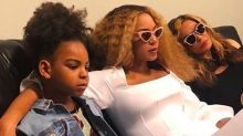 Beyoncé Took an Adorable Family Photo With Blue Ivy and Mom Tina