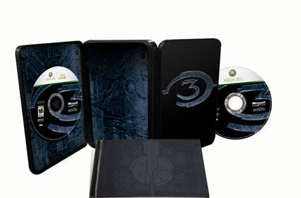 Halo 3 Collector's Edition: lacking in mysterious extra discs [update]