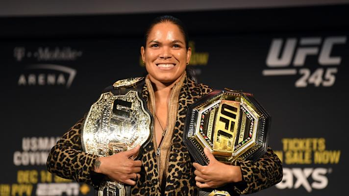 Amanda Nunes on evolving as a fighter, domestic life and her rematch with Germaine de Randamie at UFC 245