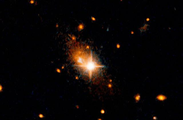 Hubble telescope spots 'runaway' black hole