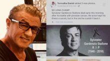 ¡Vivito y coleando! Sylvester Stallone niega haber muerto
