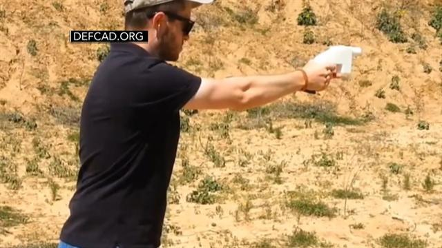 3-D printed gun test fired: Did it work?