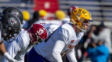 Which defensive linemen will Dolphins coach at Senior Bowl?