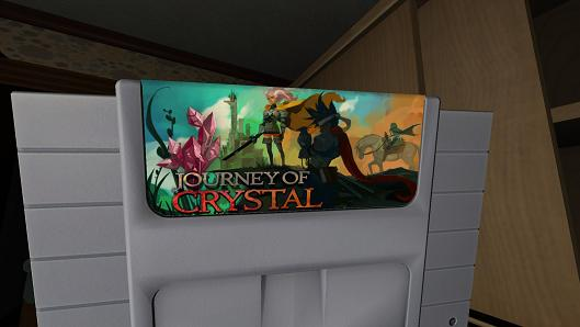 The artists behind the SNES cart art in Gone Home