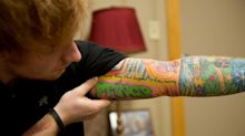Ed Sheeran's Latest Tattoo Has a SERIOUS Misspelling!