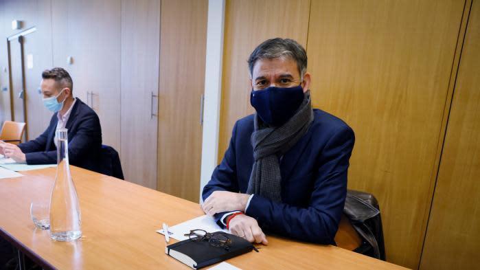 """Présidentielle 2022 : Olivier Faure, premier secrétaire du PS, assure qu'il y aura une """"alternative de gauche et écologiste"""" avec un candidat commun"""
