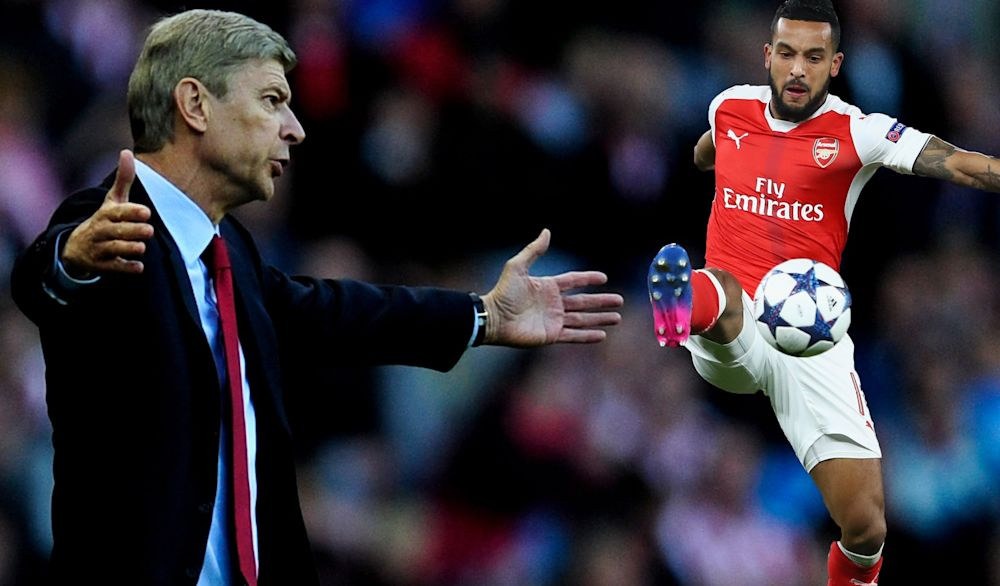 Arsene Wenger was unhappy Arsenal skipper Theo Walcott admitted Palace 'wanted it more'