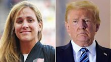 Olympian Kara Goucher, Whose Grandfather Died from COVID, Responds to Trump's 'Tone-Deaf' Comments