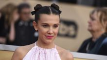 Millie Bobby Brown wears $49.99 sneakers to a fancy awards show