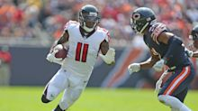 Falcons WR Julio Jones missed practice again with hamstring injury