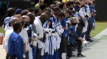 Colin Kaepernick attacks NFL 'propaganda' as teams protest on opening weekend