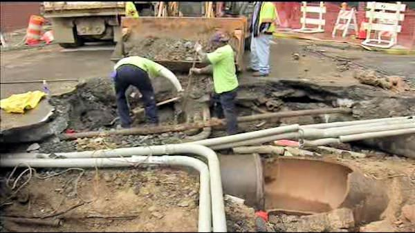 Water main break nightmare will last weeks in Old City