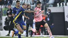 Anche il Verona ferma la Juve, 1-1 allo Stadium: Favilli entra, segna e va ko; una magia di Kulusevski salva Pirlo