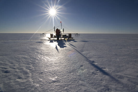 Antarctica's Ice Attacked from Above and Below