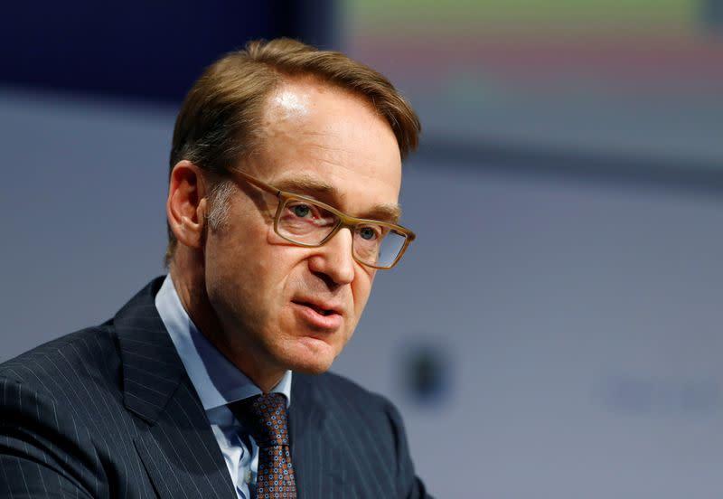 Joint EU debt must not become a regular thing: Germany's Weidmann