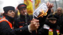 El efecto Macron se apaga: los funcionarios, en pie de guerra contra las reformas del presidente