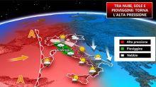 Meteo, torna l'alta pressione: tra sole, nebbia e inquinamento
